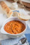 Italian Tomato and Bread Soup Royalty Free Stock Images