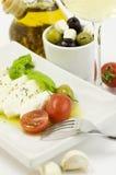 Italian tomato mozarella close up Royalty Free Stock Photo