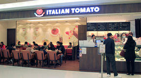 Italian Tomato restaurant in hong kong Royalty Free Stock Images