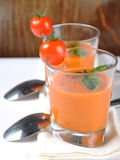 Italian tomato soup Royalty Free Stock Photos