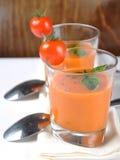 Italian tomato soup Royalty Free Stock Photos