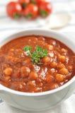 Italian Tomato Soup Stock Photo