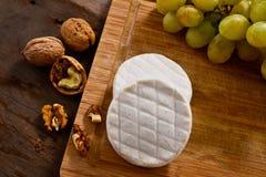 Italian tomino cheese Royalty Free Stock Photo