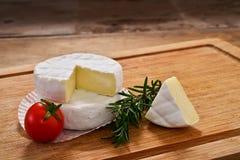 Italian tomino cheese Royalty Free Stock Photos