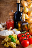 Italian tortellini Stock Images