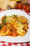 Italian tortellini pasta Stock Photo