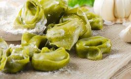 Italian tortellini pasta Royalty Free Stock Images