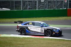 Italian Touring Car developed by Audi Sport Royalty Free Stock Photo