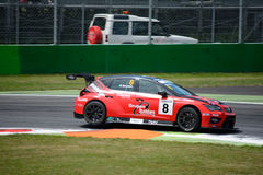 Italian Touring Car developed by SEAT Sport Stock Images