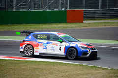 Italian Touring Car developed by SEAT Sport Royalty Free Stock Photo
