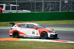 Italian Touring Car developed by SEAT Sport Royalty Free Stock Images