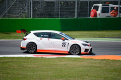 Italian Touring Car developed by SEAT Sport Royalty Free Stock Photography
