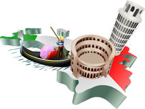 Italian tourism Stock Image
