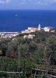 Italian town, Marina della Lobra, Italy. Royalty Free Stock Photos