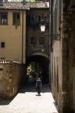 Italian town street Royalty Free Stock Image