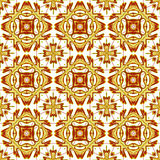 Italian traditional ornament, Mediterranean seamless pattern, tile design, vector illustration. Royalty Free Stock Photos