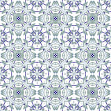 Italian traditional ornament, Mediterranean seamless pattern, tile design, vector illustration. Stock Photos