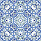 Italian traditional ornament, Mediterranean seamless pattern, tile design, vector illustration. Stock Photo