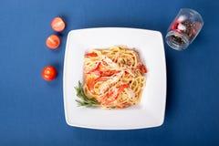 Italian traditional pasta stock image