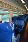 Italian train, indoors Stock Photo