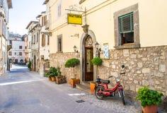 Italian trattoria Stock Photo