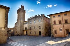 Arezzo, medieval town in Tuscany, Italy Royalty Free Stock Photo