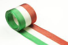 Tricolor ribbon Royalty Free Stock Photography