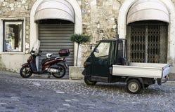 Italian tricycle Stock Photos