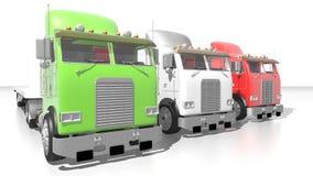 Italian trucks Royalty Free Stock Images