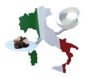 Italian truffles concepts Royalty Free Stock Photo