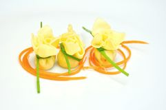 Italian typical food : pasta Stock Image