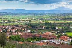 Italian Umbria province landscape Royalty Free Stock Images