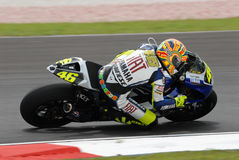 Italian Valentino Rossi Fiat Yamaha Team at 2007 P Stock Photos