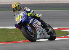 Italian Valentino Rossi of Fiat Yamaha Team Royalty Free Stock Photography