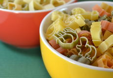Italian Vegetable Pasta for  children Royalty Free Stock Photography