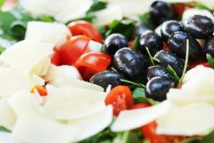 Italian vegetable salad Royalty Free Stock Photo