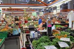 Italian vegetables market Stock Photo