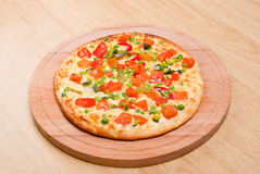 Italian vegetables  pizza.Neapolitano Stock Photo