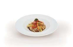 Italian vegetarian pasta Royalty Free Stock Image