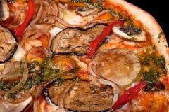 Italian vegetarian pizza Royalty Free Stock Photos