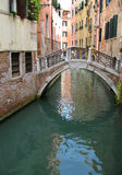 Italian Venice. Bridge Stock Photography