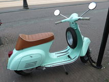 Italian Vespa scooter Stock Images