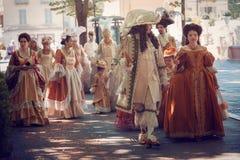 Italian victorians dresses Stock Image