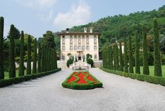 Italian villa Royalty Free Stock Photo