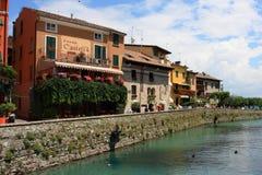 Italian villa. In small village Stock Photo