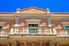 Italian villa balcony Royalty Free Stock Images