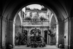 Italian Villa Entrance Stock Images
