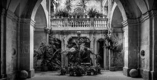 Italian Villa Entrance stock photo