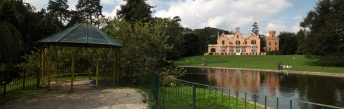 Italian Villa and pagoda Royalty Free Stock Images