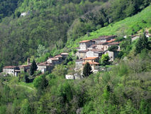 Italian Village Stock Image